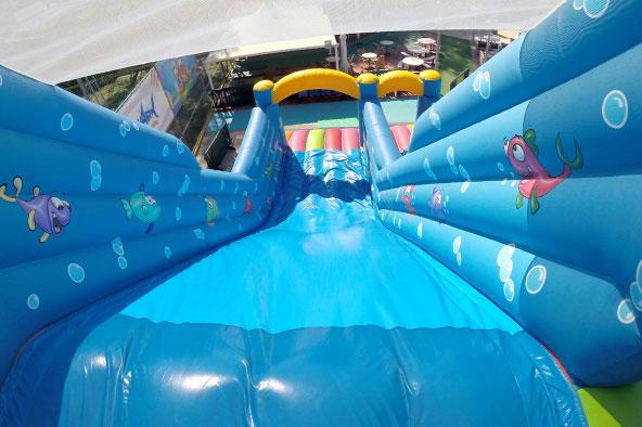 underwater mega slide extreme park nicosia